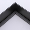 Canvas Floater, Black  1-1/2 inch